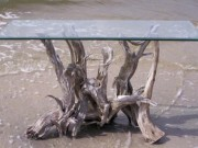 Driftwood Table Stand