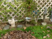 Driftwood Flowerbed Ornaments